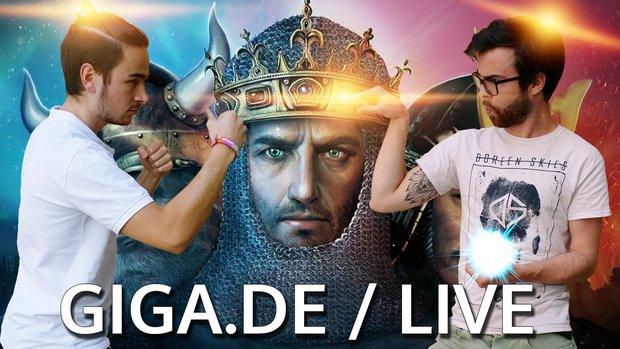 GIGA GAMES Live: Age Of Empires 2 Battle beim Retro Day!