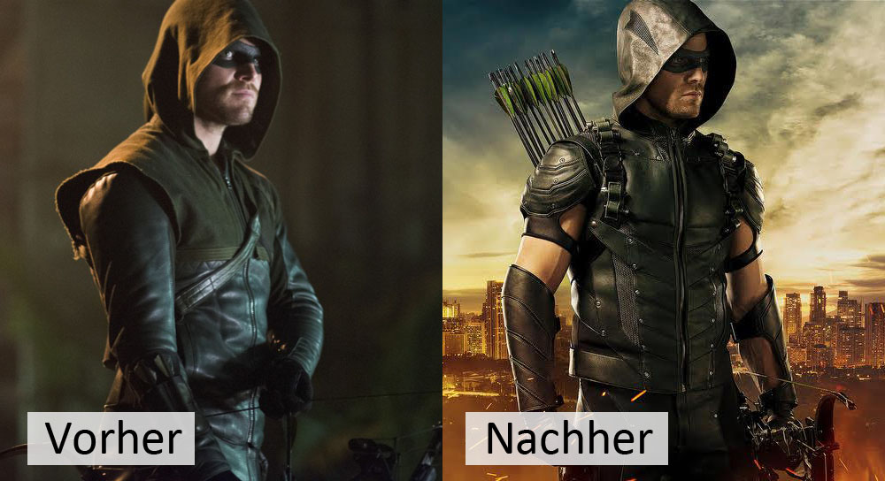 Arrow 4 Staffel