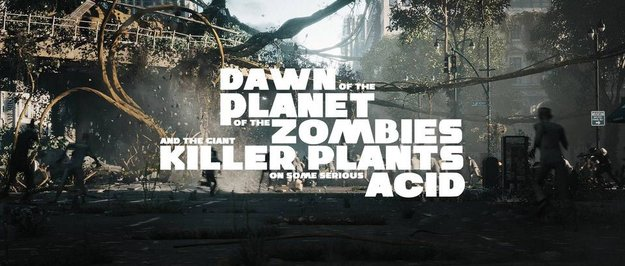 Fake-Attacke: Dawn of the Planet of The Zombies and The Gian...ach, schreibt das doch selbst