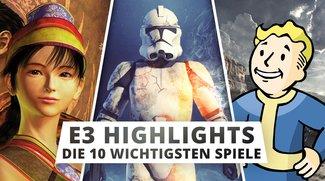 E3 2015: Die 10 wichtigsten Spiele der Messe im Überblick
