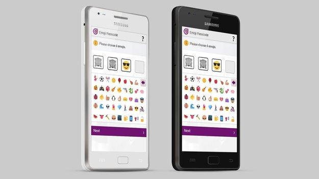 Emojis statt PIN-Codes: Smileys machen Handy-Überweisungen sicherer