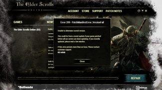 The Elder Scrolls Online: Error 209 - Das kann helfen