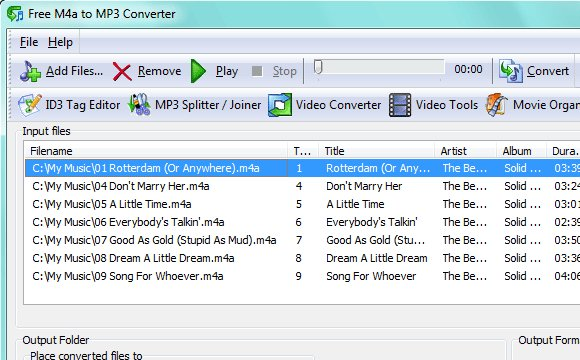 Free-M4A-to-MP3-Converter