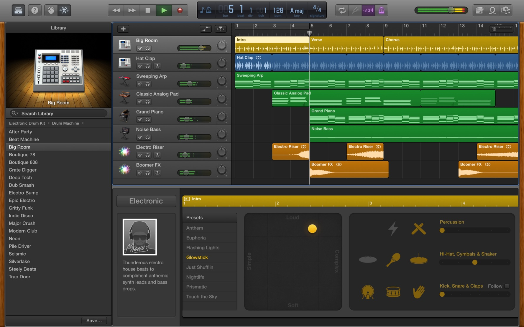 Garageband Das Musikstudio Fur Mac Ipad Und Iphone Download