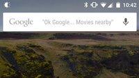 Google-Suchleiste auf Homescreen schlägt mögliche Sprachbefehle vor – bislang nur in den USA