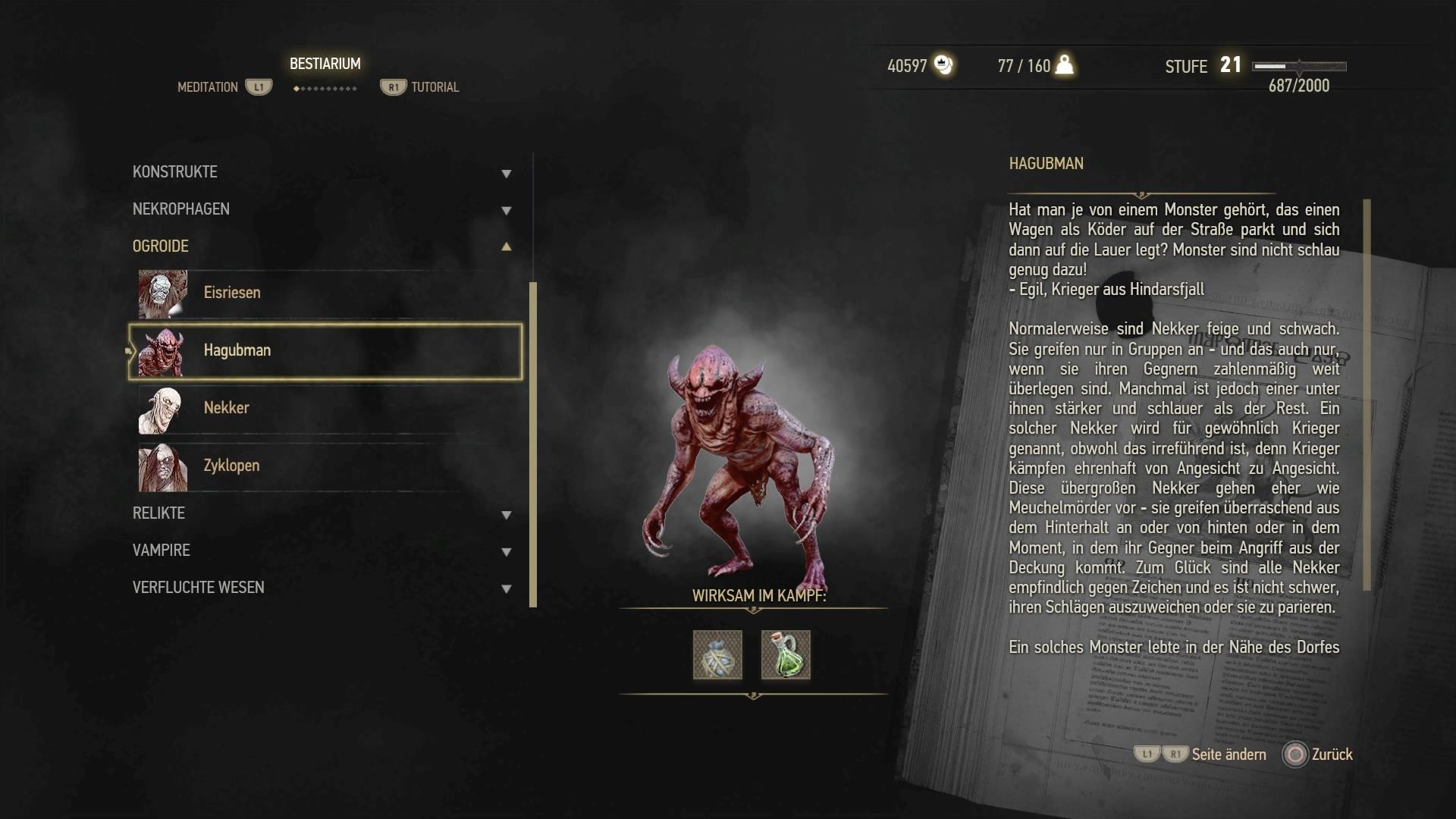 The Witcher 3 Walkthrough Hexer Auftrag Seltsame Bestie Mit