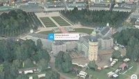 Apple Maps: 3D-Karten jetzt auch in Karlsruhe und Kiel