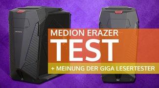 MEDION® goes High-End: Der große MEDION® ERAZER® X5382 E im Lesertest! - Test / Review