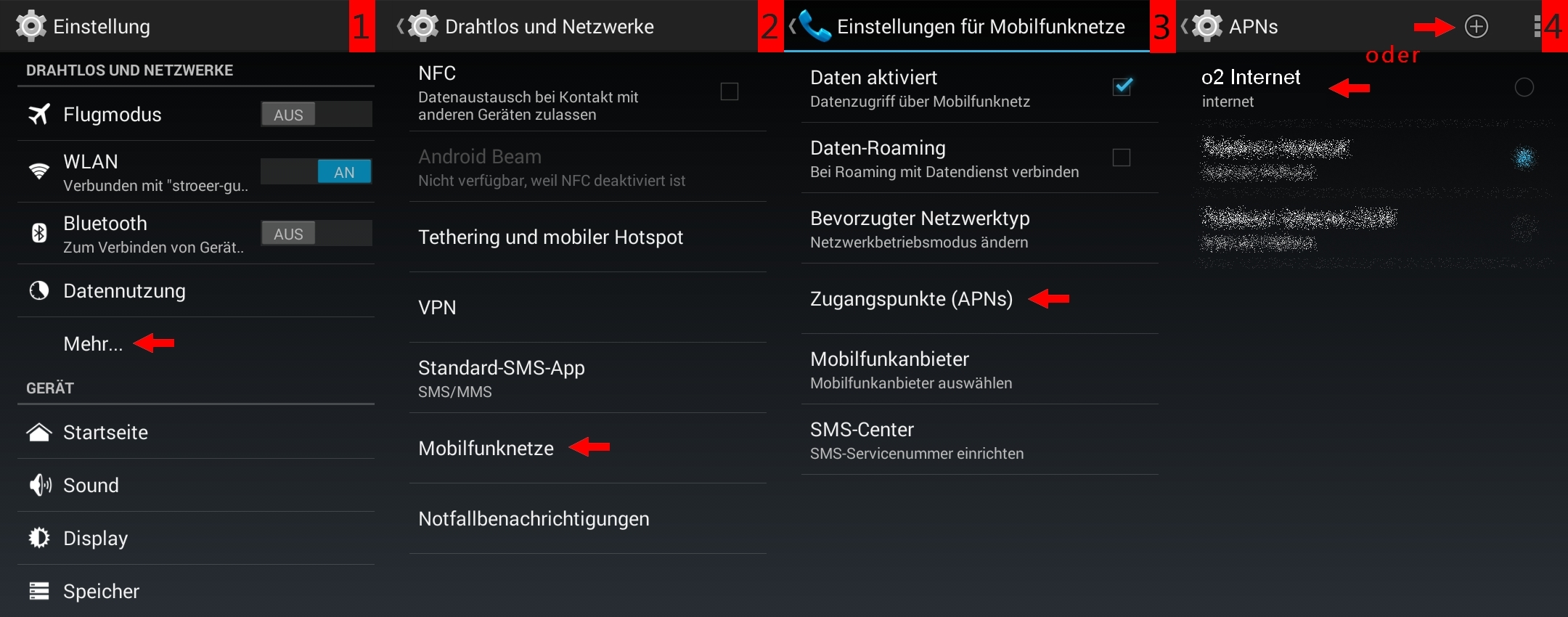 Android APN Einstellungen HOT Internet - YouTube