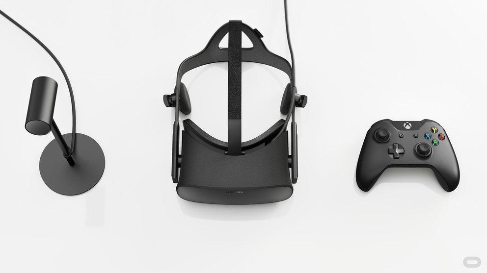 Die Oculus Rift kommt mit Tracking-System, unterstützt den Xbox-One-Controller und...