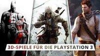 PS3 3D-Spiele: Diese Titel erlebt ihr hautnah!