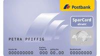 Postbank SparCard direkt: Zinsen, Ausland, kündigen – alle Infos
