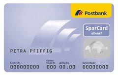 Postbank SparCard direkt:...