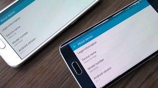 Samsung Galaxy S6 & S6 edge: Android 5.1.1 Lollipop-Update im Video demonstriert
