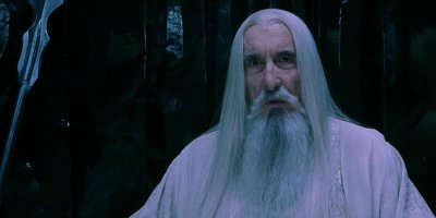 Christopher Lee als Saruman © Warner Bros.