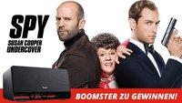 Spy - Susan Cooper Undercover: Gewinnt eine mobile Soundanlage BOOMSTER von Teufel (Gewinner steht fest!)