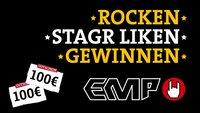 Für Musik-Fans: Like stagr und gewinn EMP-Gutscheine im Gesamtwert von 350€!