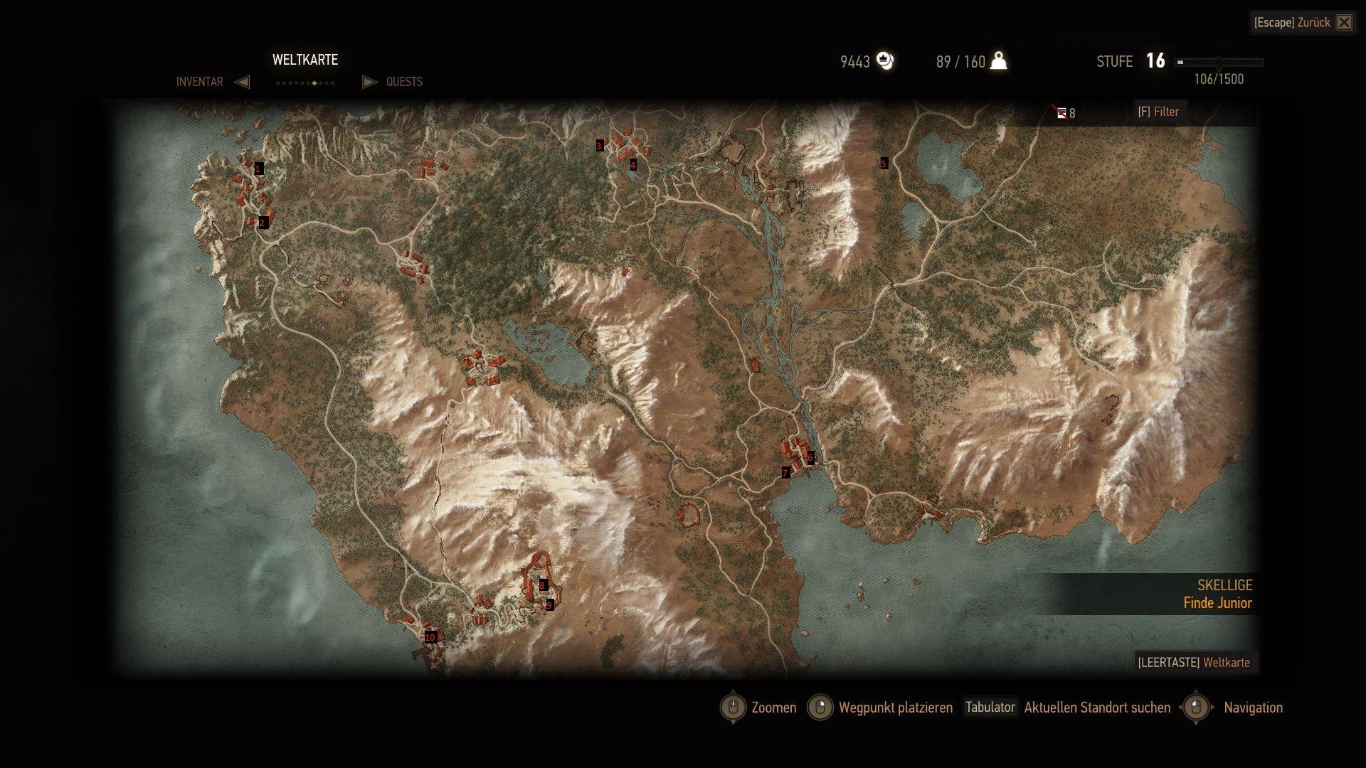 Witcher 3 Velen Karte.The Witcher 3 Gwint Spieler Finden Und Handler Fundorte