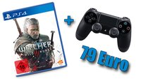 Hammer-Deal: The Witcher 3 + PS4 Controller für 79 Euro!