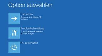 Windows 10: Erweiterte Startoptionen aufrufen – so geht's