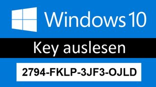 Windows 10: Key auslesen – so geht's