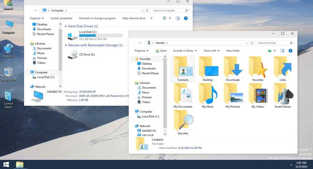 Windows 10 Skin Pack: Das Tool installiert Icons und die Optik von Windows 10 auf Windows 7 und Windows 8.