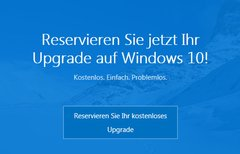 Windows 10 reservieren und...