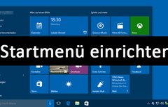 Windows 10: Startmenü...