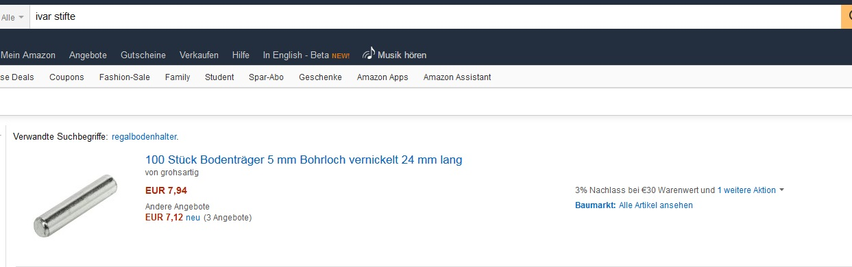 Ikea Ersatzteile Online Bestellen