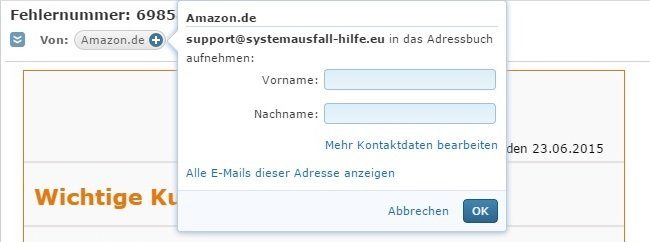 amazon phishing 007