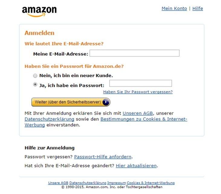 Amazon Wichtige Mitteilung