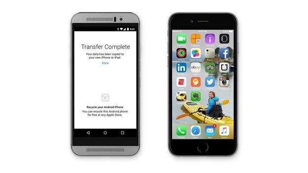 Apple dementiert Gerüchte über iPhone-zu-Android-Switch-App