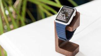 Apple Watch-Ständer: Echtholz-Garage für die Hightech-Uhr