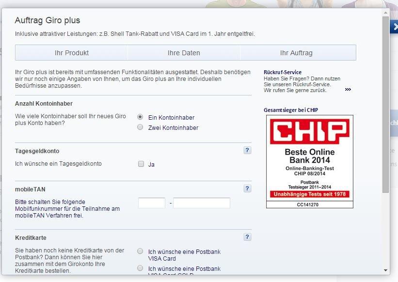Postbank Freunde Werben: Postbank: Girokonto Eröffnen