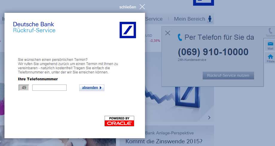 Deutsche Bank Hotline So Erreicht Ihr Den Kundenservice