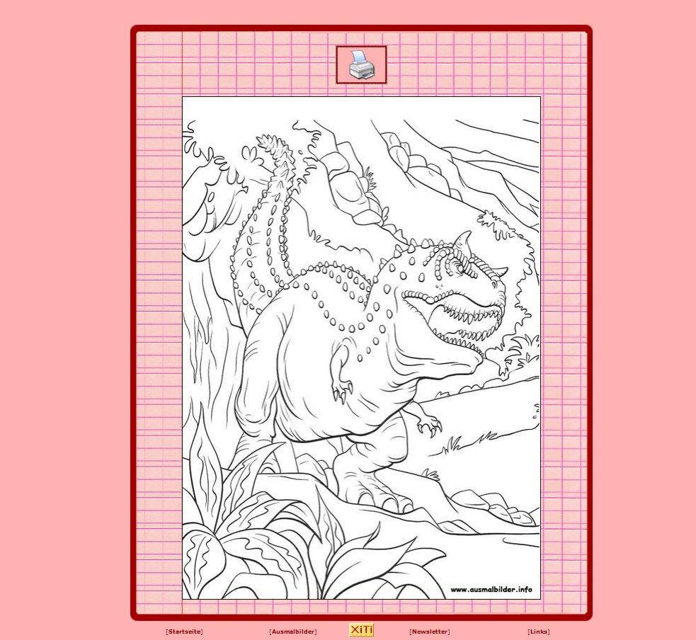 Dinosaurier Ausmalbilder Kostenlos Ausdrucken : Dinosaurier Ausmalbilder Kostenlos Zum Ausdrucken Online Giga