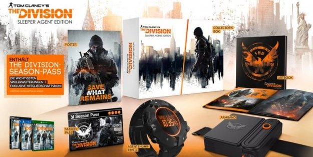 The Division: So sieht die Collector's Edition aus