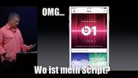 Apple Keynote zu Apple Music: Too much ihr Hipster-Klappspaten! (Kommentar)