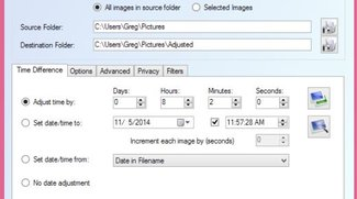 EXIF Date Changer