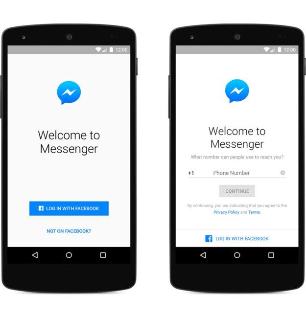 Facebook Messenger: Benutzung bald auch ohne Facebook-Account möglich
