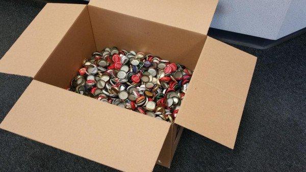 Fallout 4: Fan schickt Bethesda über 2000 Kronkorken um Spiel vorzubestellen