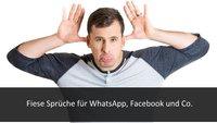 Fiese Sprüche für Facebook, WhatsApp und falsche Freunde