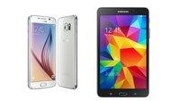 Galaxy S6 + Tablet für 1 Euro mit 1,5 GB Datenvolumen und Telefonie-Flat bei Vodafone nur 39,99 Euro im Monat