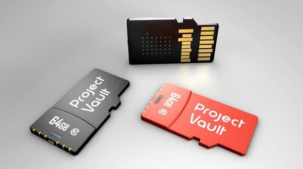 Project Vault: Google will mit microSD-Karten-Rechner Passwörter abschaffen