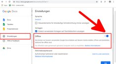 Google Docs offline nutzen – so geht's