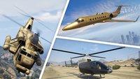 GTA 5 Online: Alle Flugzeuge und Helikopter -...
