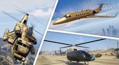 GTA 5 Online: Alle Flugzeuge und Helikopter - Fundorte und Infos