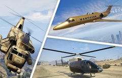 GTA 5 Online: Alle Flugzeuge...
