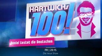 Hartwichs 100! Die letzte Folge im Live-Stream und auf RTL heute um 20:15 - Daniel testet die Deutschen
