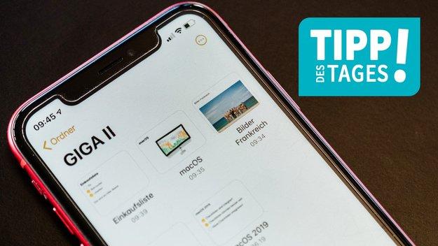 Notizen auf dem iPhone: So nutzt man die Neuerungen von iOS 13